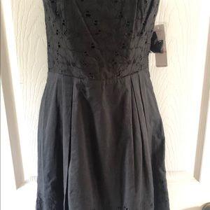 Gorgeous Black Strapless Cocktail Dress